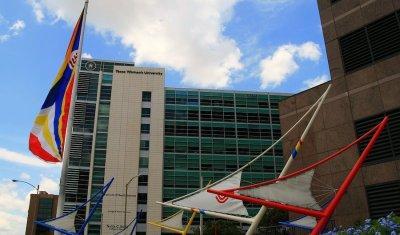 Texas Children's Hospital - Sail Park Landscape Design